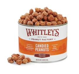 Case 12 - 20 oz. Tins Butter Toffee Peanuts