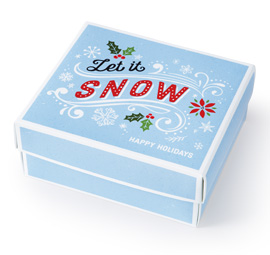 Let it Snow Gift Box - Whitleys Peanut Factory