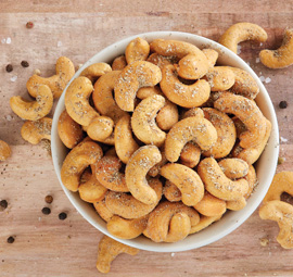 Salt & Pepper Jumbo Cashews