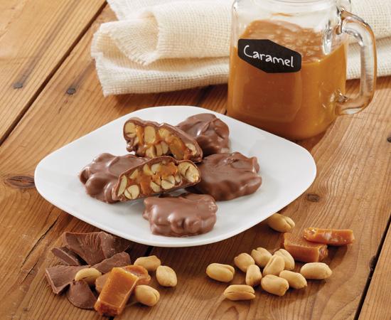 Milk Chocolatey Peanut Delights