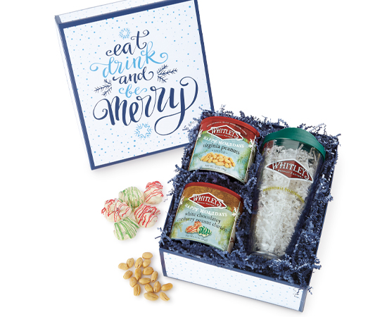 NEW! Eat, Drink and Be Merry Gift Box
