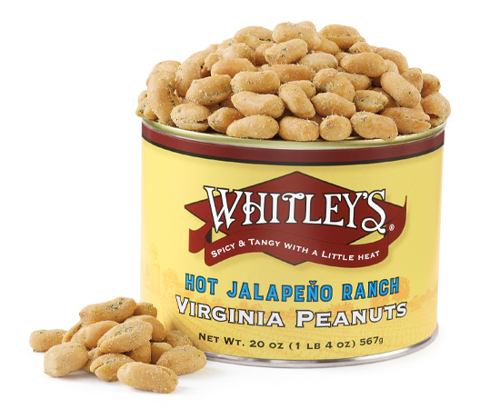 Hot Jalapeño Ranch Virginia Peanuts