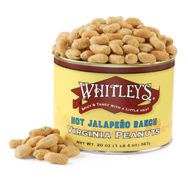 NEW! Hot Jalapeño Ranch Virginia Peanuts