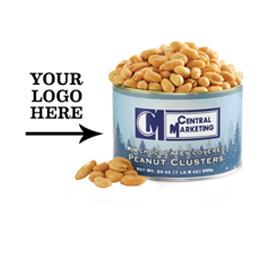Holiday Blue Premium Custom Template Virginia Peanuts