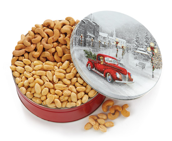 New! Snowy Drive Gift Tin