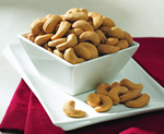 12-18 oz. Tins Jumbo Cashews (Salted) (case)