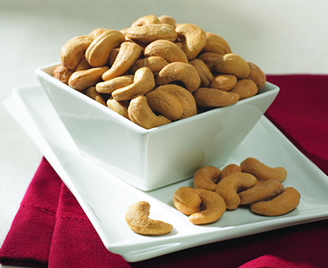 12-18 oz. Tins Jumbo Cashews (Salted) (case)