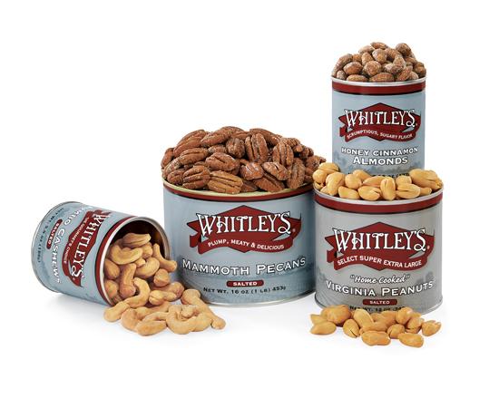 New! Whitley's Classic Nut Sampler