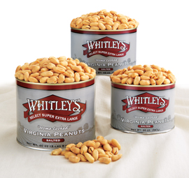 20 oz. Tin Salted Virginia Peanuts