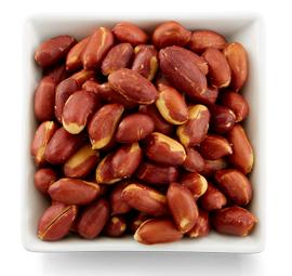 16 oz. Bag Unsalted Redksin Virginia Peanuts