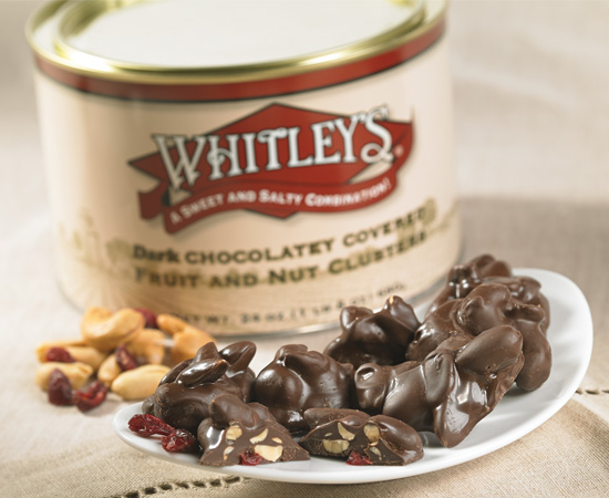 Dark Chocolatey Covered Fruit & Nut Clusters