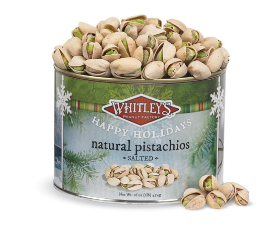 Holiday Pistachios Tin