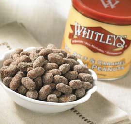 Case 12 - 20 oz. Tins Sea Salt & Caramel Virginia Peanuts