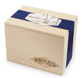 Father's Day Gourmet Nut Collection with Wooden Crate - Whitley's Peanut Factory