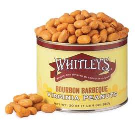 Case 12 - 20 oz. Tins Bourbon Barbeque Peanuts