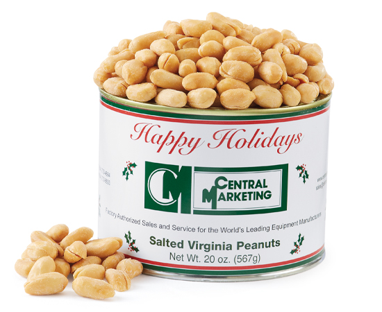 Private Label Peanut Tins
