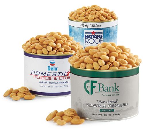 Private Label Peanut Tins