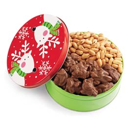 Holiday Reindeer Gift Tin
