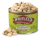 12-16 oz. Tins Pistachios (one case)