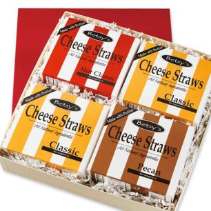 Cheese Straws Variety Pack, 3 oz Bags, 24 each