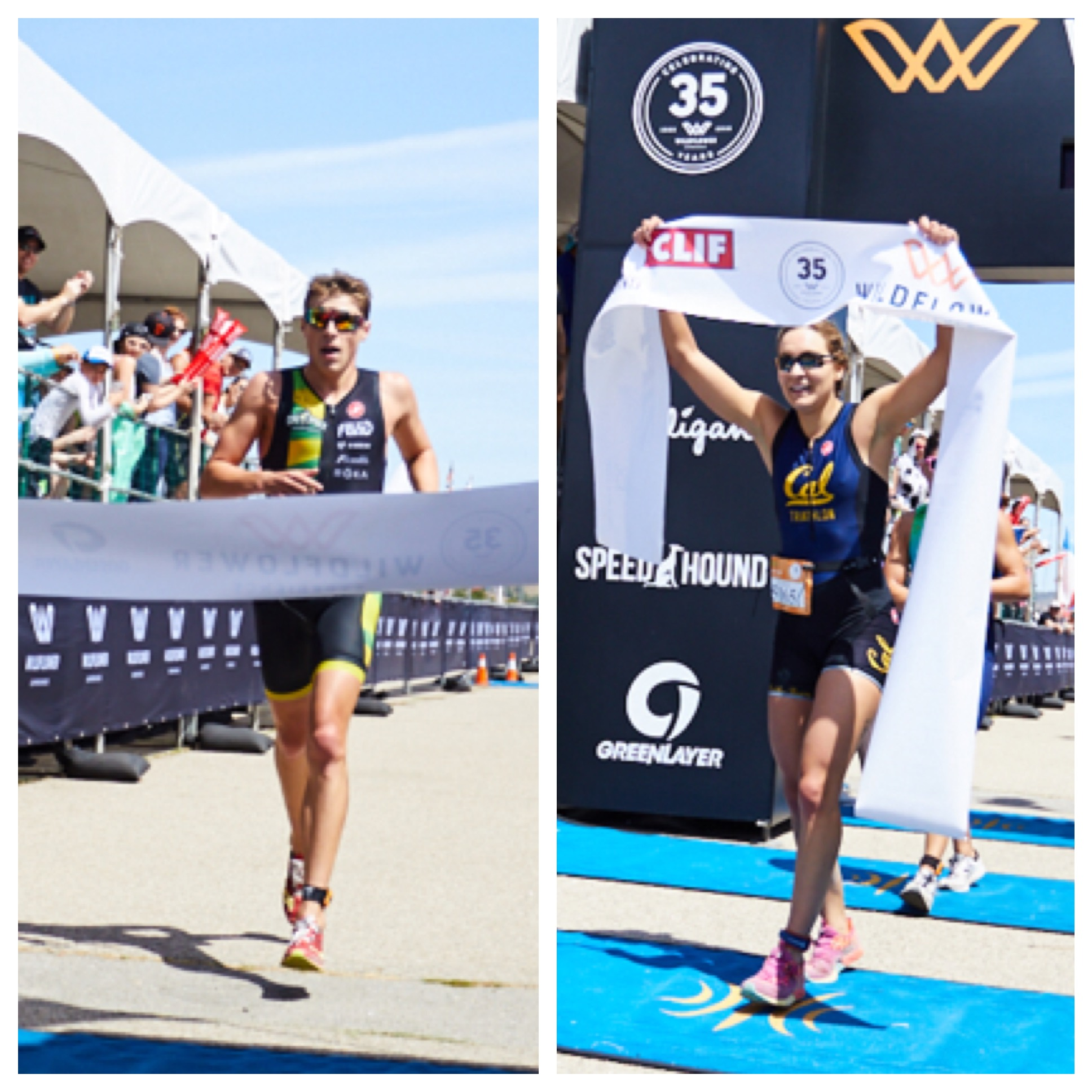 Kevin Jervis and Katherine Hoolihan Win 2018 Wildflower Experience Triathlon Collegiate Race