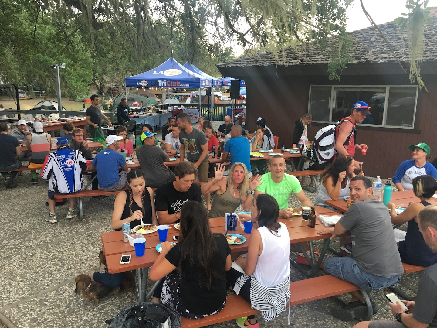Camping & Racing With My Tri Club