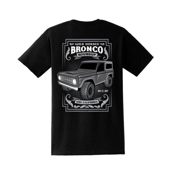 2021 Roundup Shirt Black