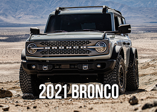 2021 Ford Bronco Parts