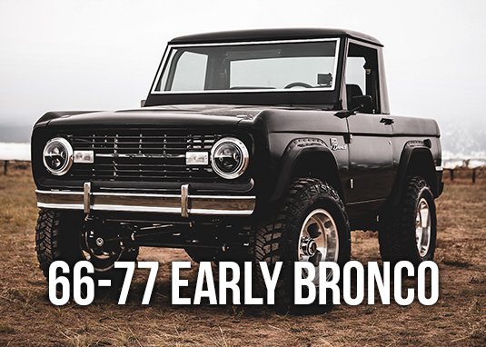 66-77 Early Bronco Parts