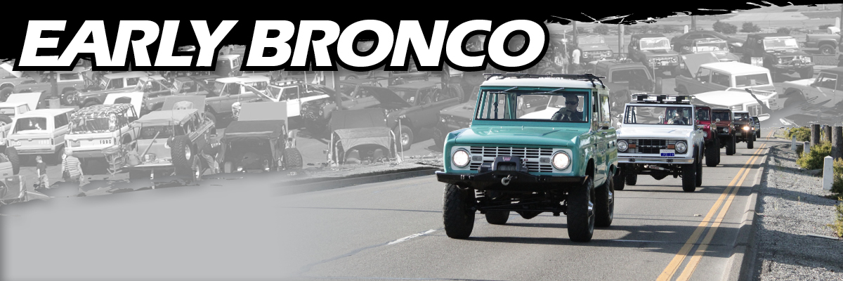 BRONCO BUCKET SEATS