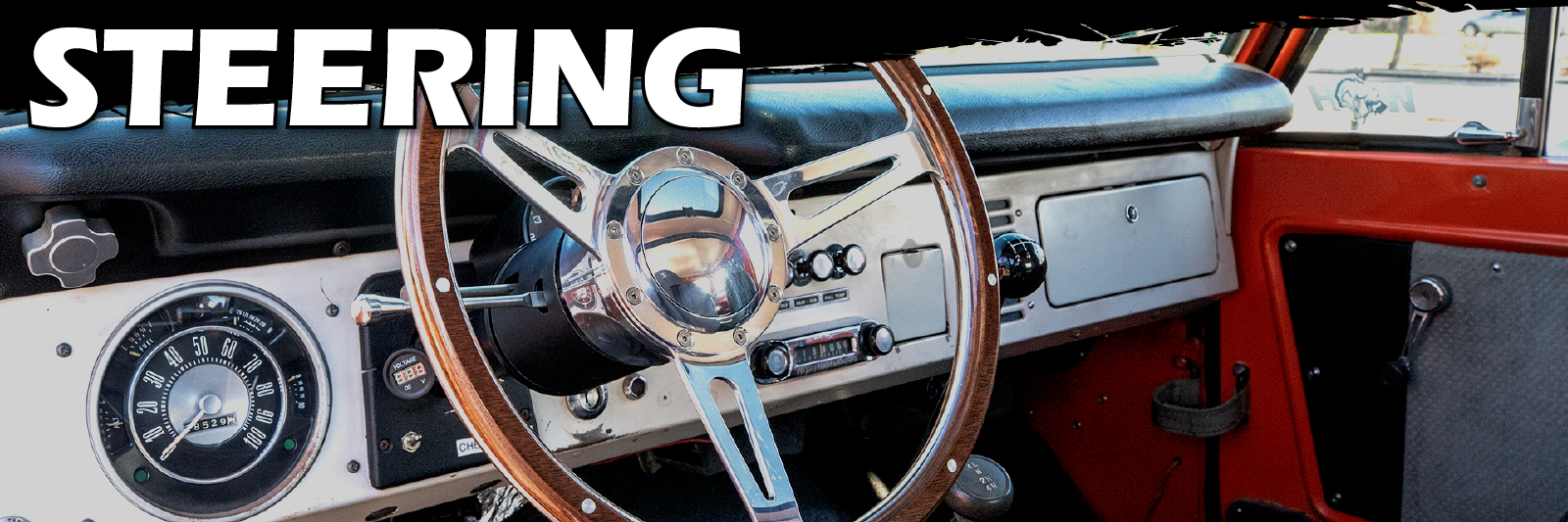 STEERING WHEELS - STOCK