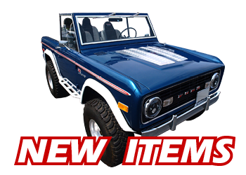 promo new items2 wild horses 4x4 off road bronco parts and accessories
