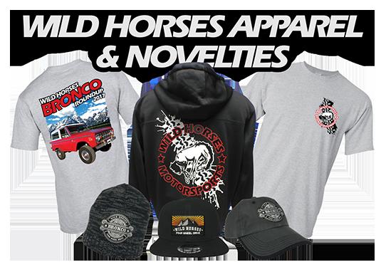 Wild Horses Hats, Shirts, & Jackets