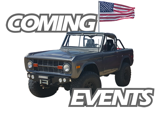 Bronco Off-Road Events