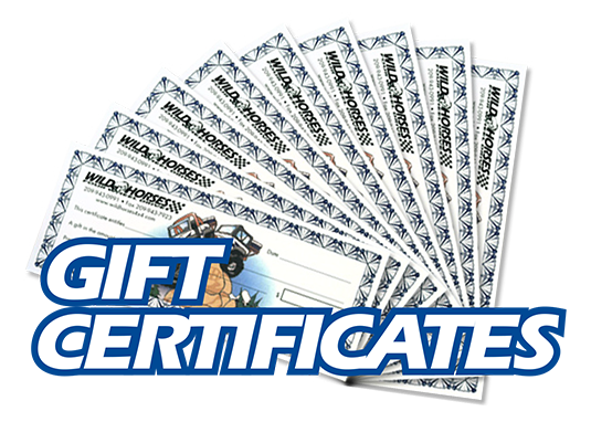 Wild Horses Gift Certificates