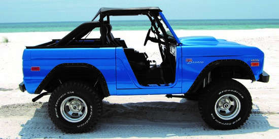ROADSTER STYLE: WILD HORSES 4X4 Ford Bronco Parts
