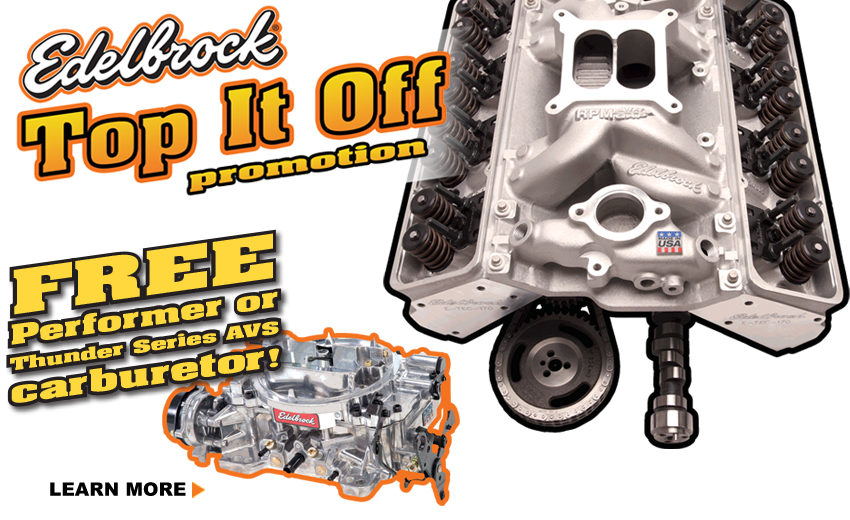 Edelbrock Top It Off Deal