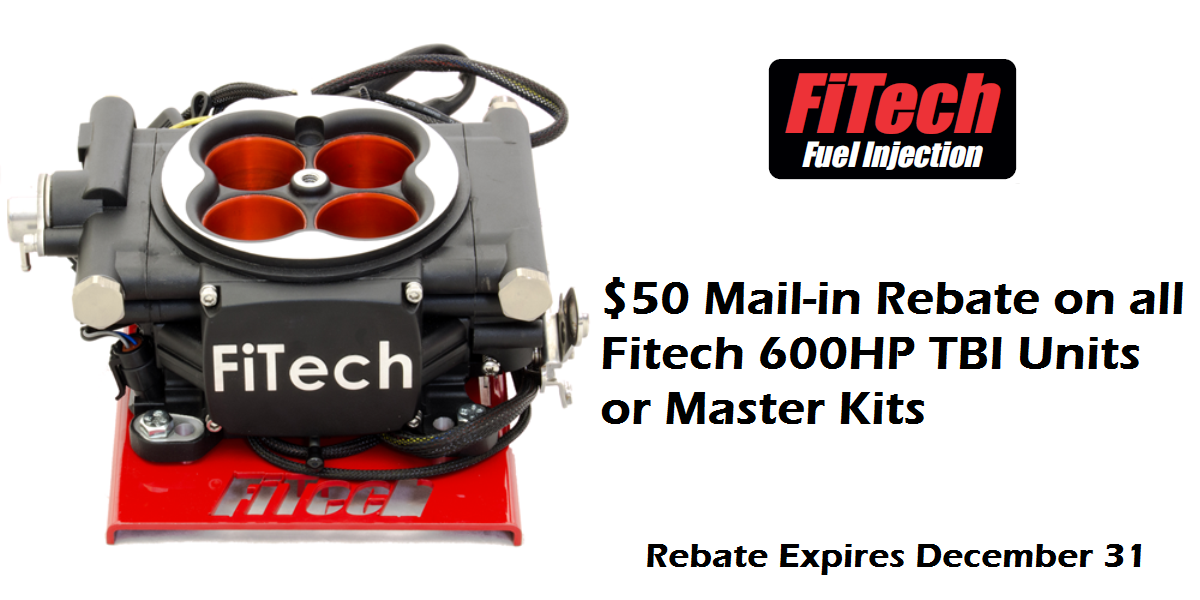 Fitech $50 Mail-in Rebate