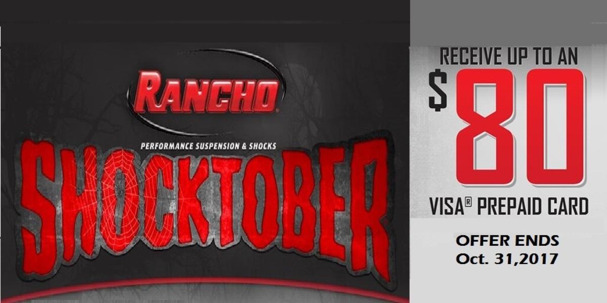 Rancho Shock Deal