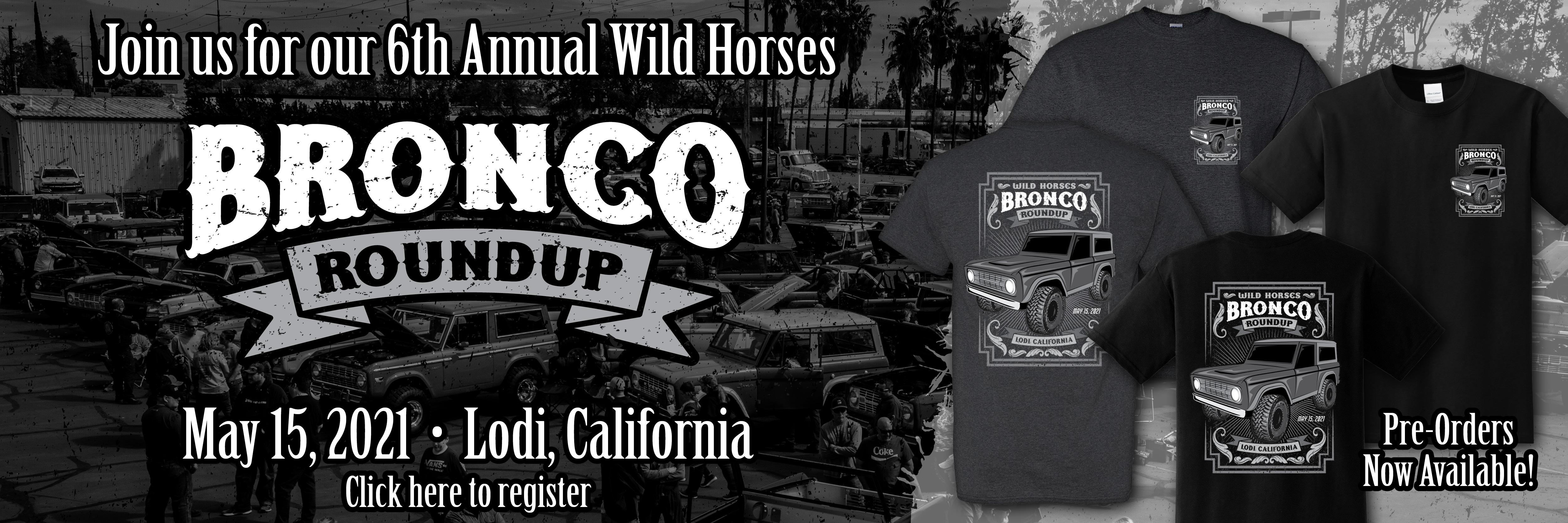 2021 Bronco Roundup