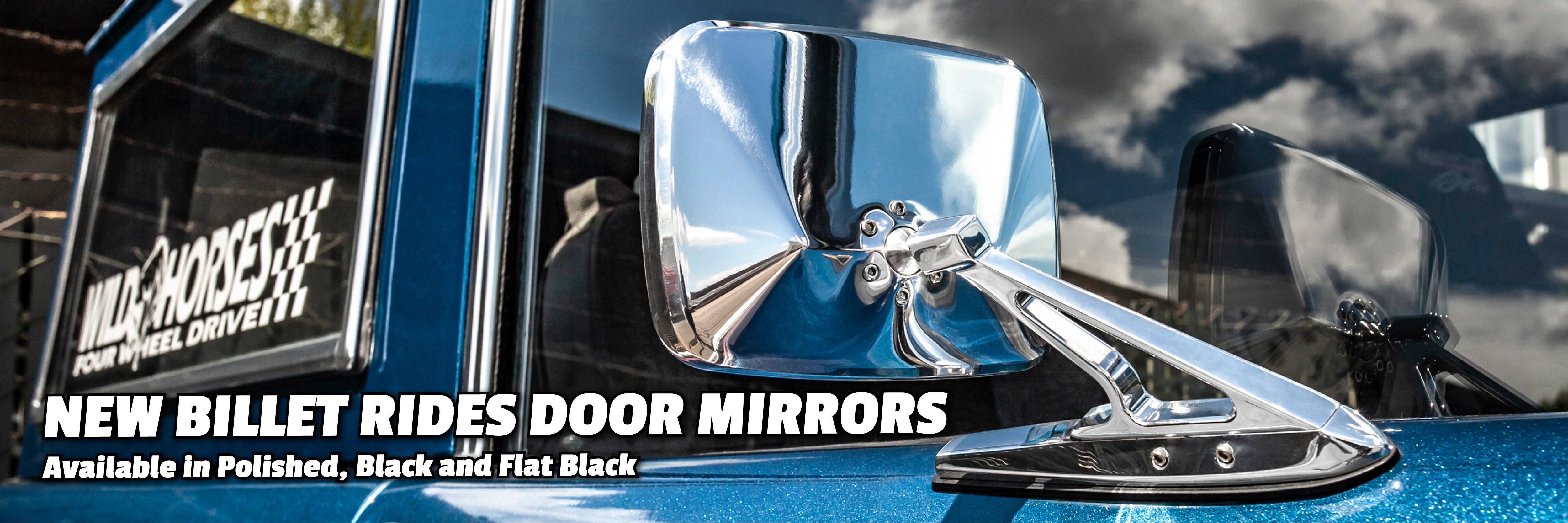 Billet Door Mirrors