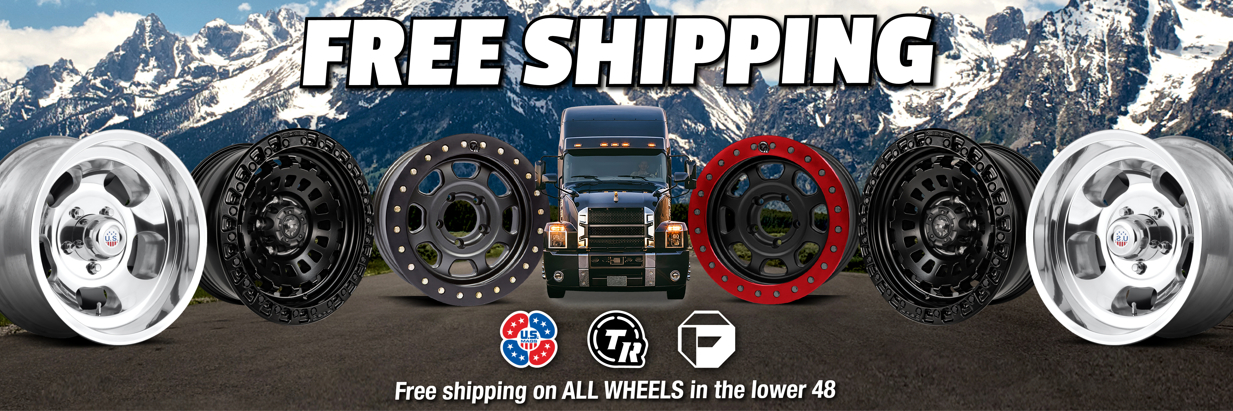 FREE Shipping on ALL Wheels