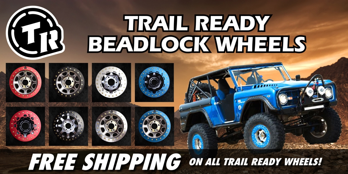 TrailReady Beadlock Wheels