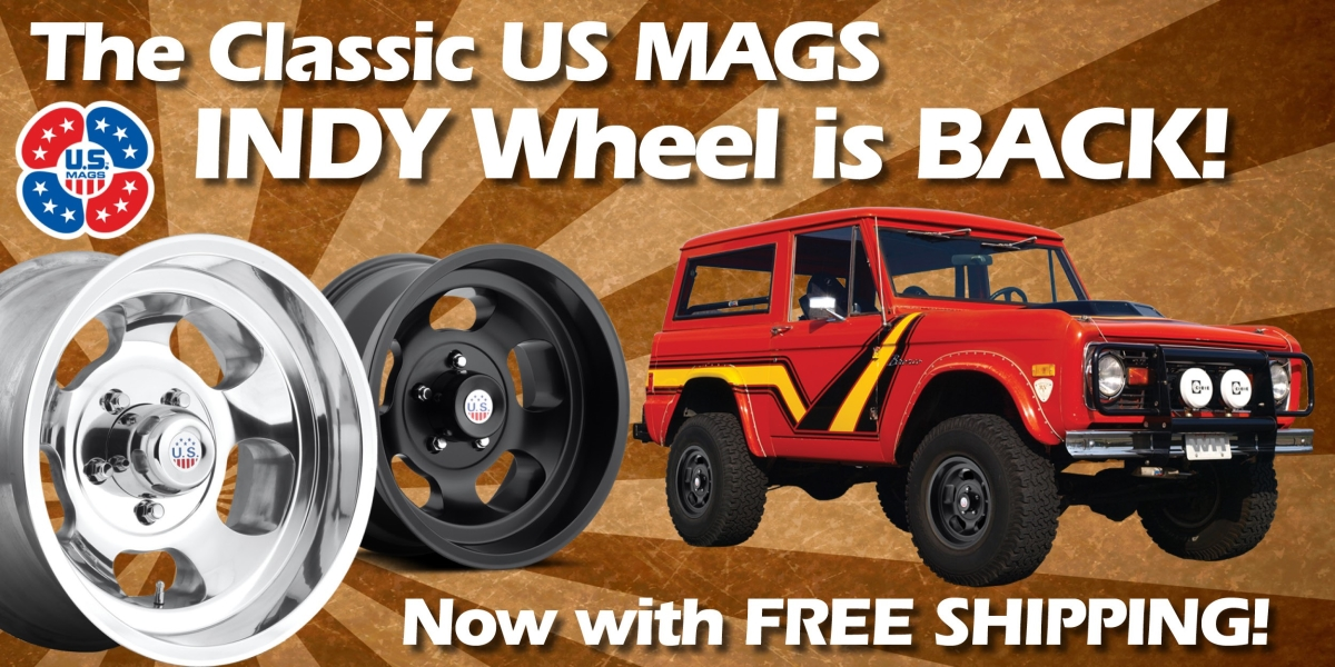 US Mags Indy Wheels