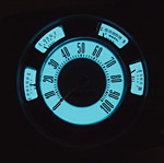 Luminescent Instrument Panel