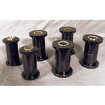 Spring and Shackle Bushing Kit Urethane 66-77 Bronco