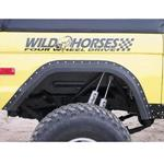 WH Gorilla Warflares Rear Fender Flares 66-77 Ford Bronco