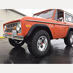 WH Gorilla Warflares Fender Flare Set 66-77 Ford Bronco