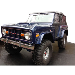 Buy Gtx Fiberglass Hood Early Ford Bronco Parts