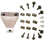 Fender Hardware Set (Does 1 Fender) Bolts, Clips & Brace